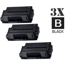 3 Piece Bulk Set Samsung MLT-D201L HY Black combo Laser Toner Cartridge Premium Compatible