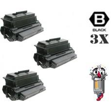 3 Piece Bulk Set Samsung MLT-2550DA combo Laser Toner Cartridges Premium Compatible