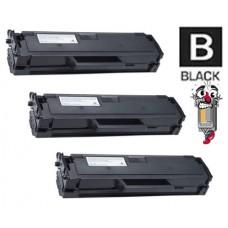 3 Piece Bulk Set Samsung MLT-D101S combo Laser Toner Cartridges Premium Compatible