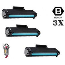 3 Piece Bulk Set Samsung MLT-D104S combo Laser Toner Cartridges Premium Compatible