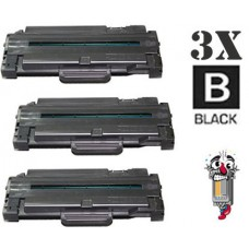 3 Piece Bulk Set Samsung MLT-D105L combo Laser Toner Cartridges Premium Compatible