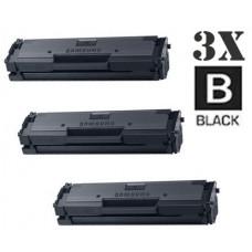3 Piece Bulk Set Samsung MLT-D111S combo Laser Toner Cartridges Premium Compatible