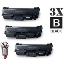 3 Piece Bulk Set Samsung MLT-D116L combo Laser Toner Cartridges Premium Compatible