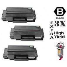 3 Piece Bulk Set Samsung MLT-D203E combo Laser Toner Cartridges Premium Compatible