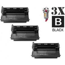 3 Piece Bulk Set Hewlett Packard HP37A CF237A combo Laser Toner Cartridge Premium Compatible