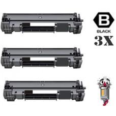 3 Piece Bulk Set Hewlett Packard CF248A (HP48A) combo Laser Toner Cartridge Premium Compatible