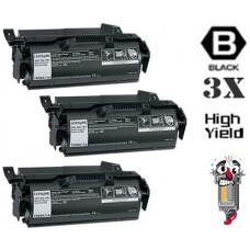 2 Piece Bulk Set Lexmark T650 T650A11A High Yield Black combo Laser Toner Cartridge Premium Compatible