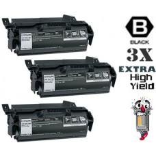 2 Piece Bulk Set Lexmark T650 T650H11A Super High Yield Black combo Laser Toner Cartridge Premium Compatible