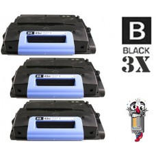 3 Piece Bulk Set Hewlett Packard Q5945A HP45A combo Laser Toner Cartridges Premium Compatible