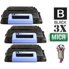 3 PACK Hewlett Packard Q5945M HP45M mICR combo Laser Toner Cartridges Premium Compatible