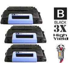 3 Piece Bulk Set Hewlett Packard Q5945X HP45X High Yield combo Laser Toner Cartridges Premium Compatible
