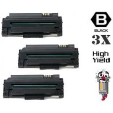 3 Piece Bulk Set Dell 330-9523 (7H53W) High Yield Black combo Laser Toner Cartridge Premium Compatible