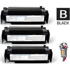 3 Piece Bulk Set Dell R0887 (310-3547) combo Laser Toner Cartridges Premium Compatible