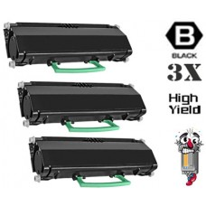 3 Piece Bulk Set Dell 330-2650 (RR700) High Yield Black combo Laser Toner Cartridge Premium Compatible