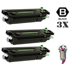 3 Piece Bulk Set Sharp AR455NT Black combo Laser Toner Cartridge Premium Compatible