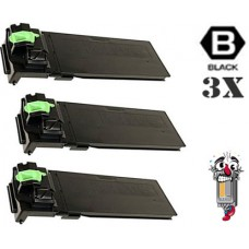 3 Piece Bulk Set Sharp MX312NT Black combo Laser Toner Cartridge Premium Compatible