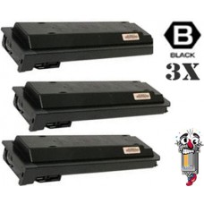3 Piece Bulk Set Sharp MX500NT Black combo Laser Toner Cartridge Premium Compatible