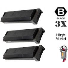 3 Piece Bulk Set Sharp MX560NT Black combo Laser Toner Cartridge