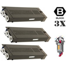 3 Piece Bulk Set Genuine Original Sharp MXB42NT1 Black combo Laser Toner Cartridge