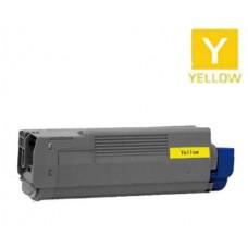 Okidata 41963601 Type C5 High Yield Yellow Laser Toner Cartridge Premium Compatible