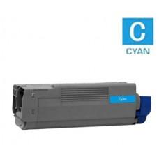Okidata 41963603 Type C5 High Yield Cyan Laser Toner Cartridge Premium Compatible
