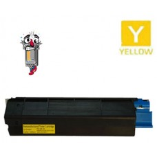 Okidata 42127401 OKI 401 High Yield Yellow Laser Toner Cartridge Premium Compatible