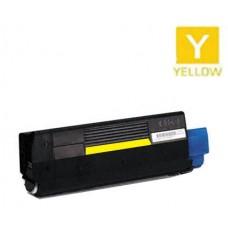 Okidata 43034801 Type C6 Yellow Laser Toner Cartridge Premium Compatible