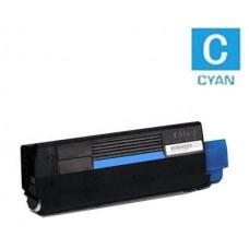 Okidata 43034803 Type C6 Cyan Laser Toner Cartridge Premium Compatible