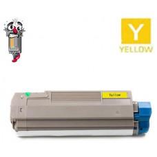 Okidata 43324401 Type C8 High Yield Yellow Laser Toner Cartridge Premium Compatible
