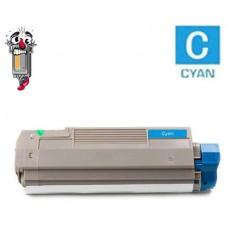 Okidata 43324403 Type C8 High Yield Cyan Laser Toner Cartridge Premium Compatible