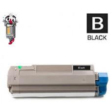 Okidata 43324404 Type C8 High Yield Black Laser Toner Cartridge Premium Compatible