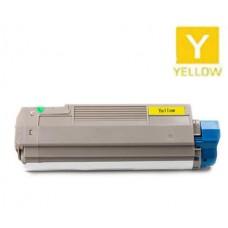 Okidata 43324474 Type C8 Yellow Laser Toner Cartridge Premium Compatible