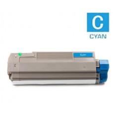 Okidata 43324476 Type C8 Cyan Laser Toner Cartridge Premium Compatible