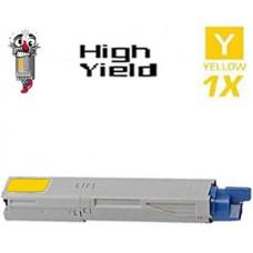 Okidata 43459301 High Yield Yellow Laser Toner Cartridge Premium Compatible