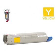 Genuine Okidata 43837125 Yellow Toner Cartridge