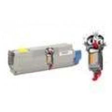 Okidata 43865717 High Yield Yellow Laser Toner Cartridge Premium Compatible