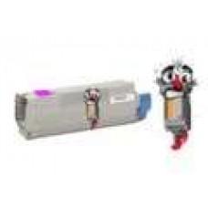 Okidata 43865718 High Yield Magenta Laser Toner Cartridge Premium Compatible