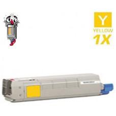 Okidata 44315301 Yellow Toner Cartridge Premium Compatible