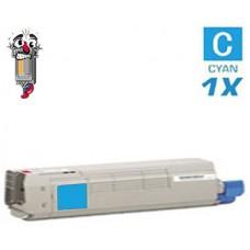 Okidata 44315303 Cyan Toner Cartridge Premium Compatible