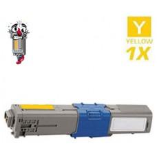 Okidata 44469701 Type C17 Yellow Laser Toner Cartridge Premium Compatible