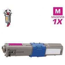 Okidata 44469702 Type C17 Magenta Laser Toner Cartridge Premium Compatible