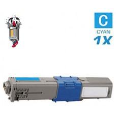 Okidata 44469703 Type C17 Cyan Laser Toner Cartridge Premium Compatible