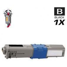 Okidata 44469801 Type C17 Black Laser Toner Cartridge Premium Compatible