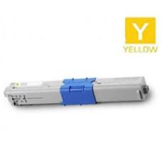 Genuine Okidata 46508701 Yellow Toner Cartridge