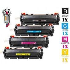 4 Piece Bulk Set Hewlett Packard HP410X High Yield combo Laser Toner Cartridges Premium Compatible