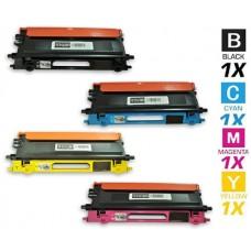 4 Piece Bulk Set Brother TN115 High Yield combo Laser Toner Cartridges Premium Compatible