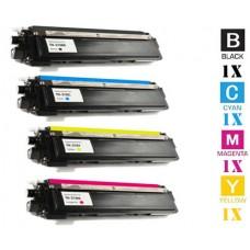 4 Piece Bulk Set Brother TN210 High Yield combo Laser Toner Cartridges Premium Compatible