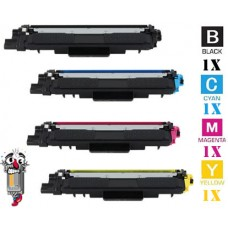 4 Piece Bulk Set Brother TN227 High Yield combo Laser Toner Cartridges Premium Compatible