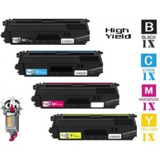 4 Piece Bulk Set Brother TN336 High Yield combo Laser Toner Cartridges Premium Compatible