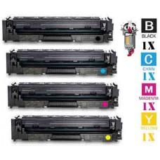 4 Piece Bulk Set Hewlett Packard HP202X combo Laser Toner Cartridges Premium Compatible